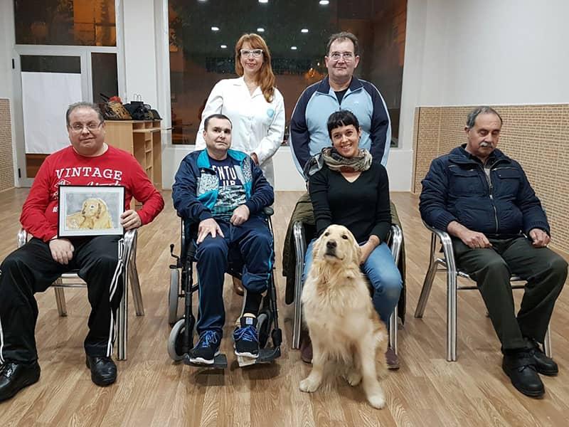 Pepa Fernández Psicóloga en Terapia Asistida con DACEMUR